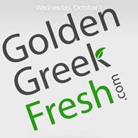 Golden Greek Fresh Company Logo